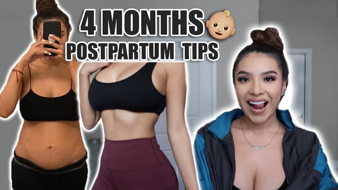 HOW I LOST MY BABY WEIGHT (4 MONTHS PP)!!