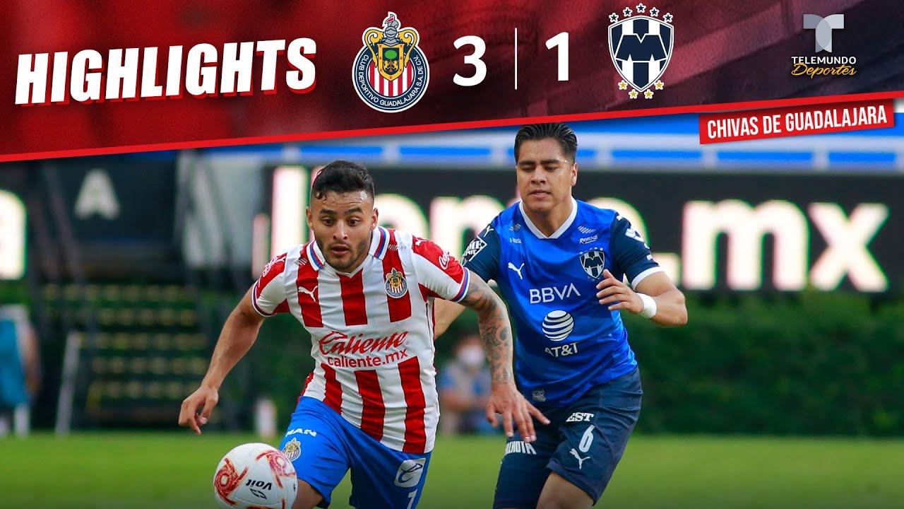 Highlights & Goals   Chivas vs. Monterrey 3-1   Telemundo Deportes