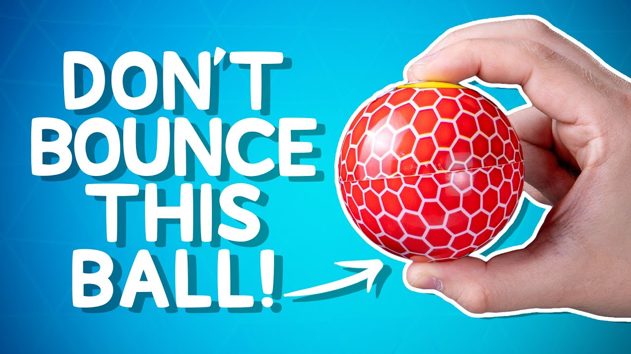 It Bounces So High, You May Never Find It Again • 10 Products You'll Want to Play With All Day