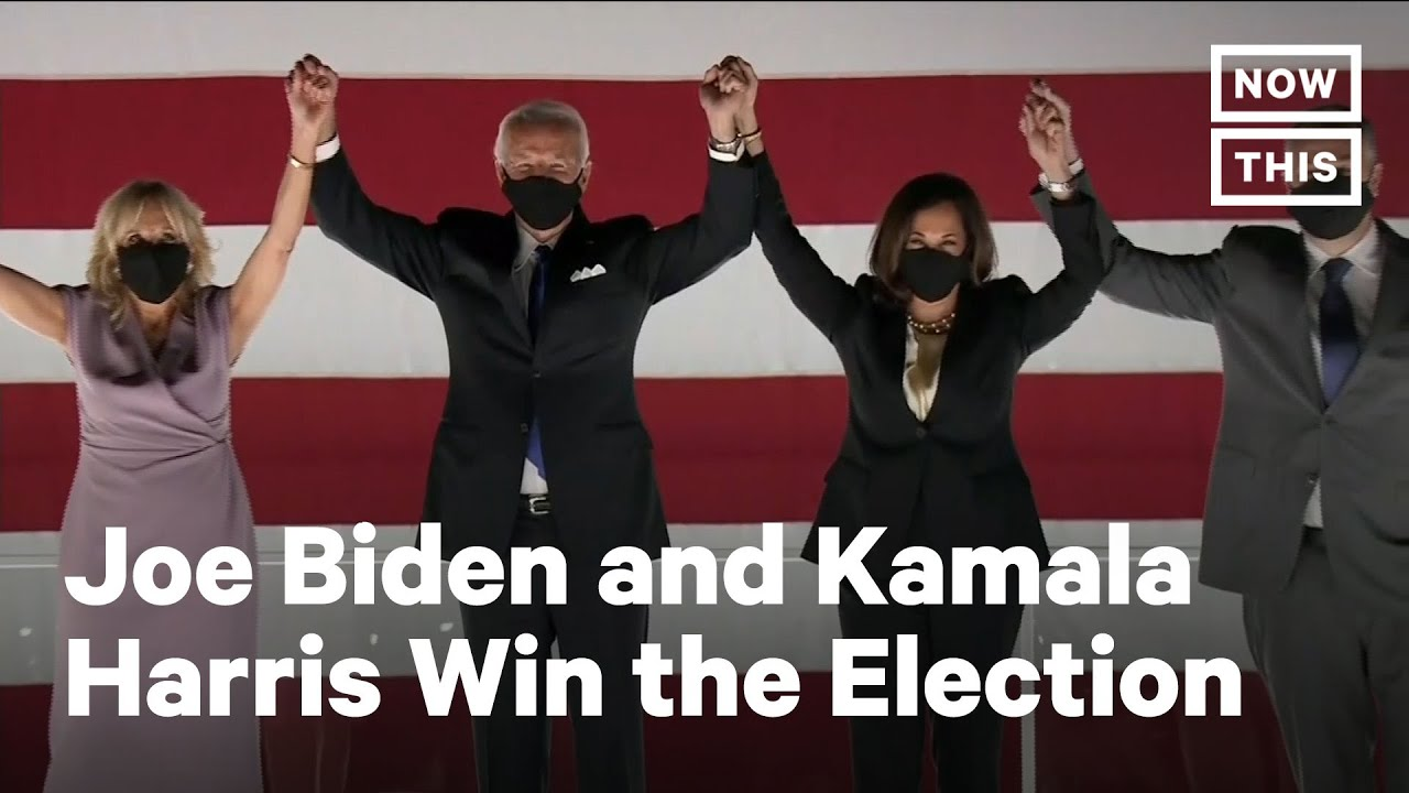 Joe Biden and Kamala Harris Have Won the Presidential Election | NowThis