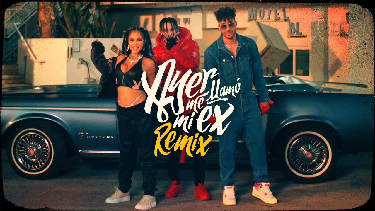 KHEA, Natti Natasha, Prince Royce – Ayer Me Llamó Mi Ex Remix ft. Lenny Santos (Official Video)