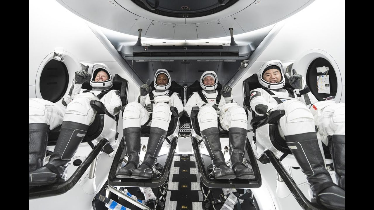 Live from Space: Video Inside the SpaceX's Dragon Resilience Spacecraft