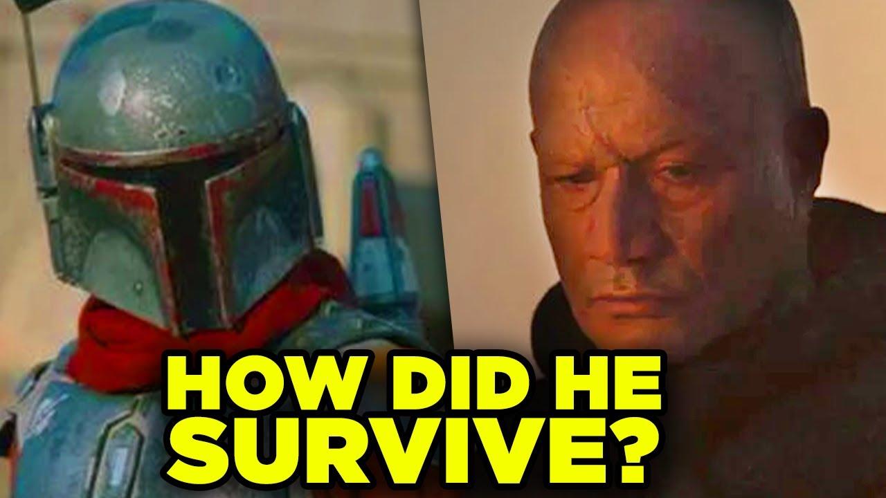 Mandalorian Season 2 Boba Fett Return Explained! Sarlacc Survival & Armor Timeline!