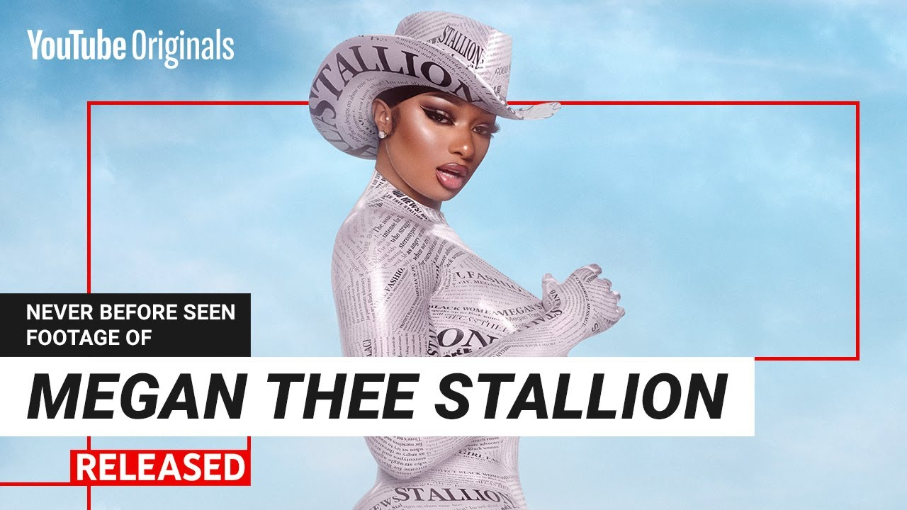 Megan Thee Stallion new footage and music video on RELEASED