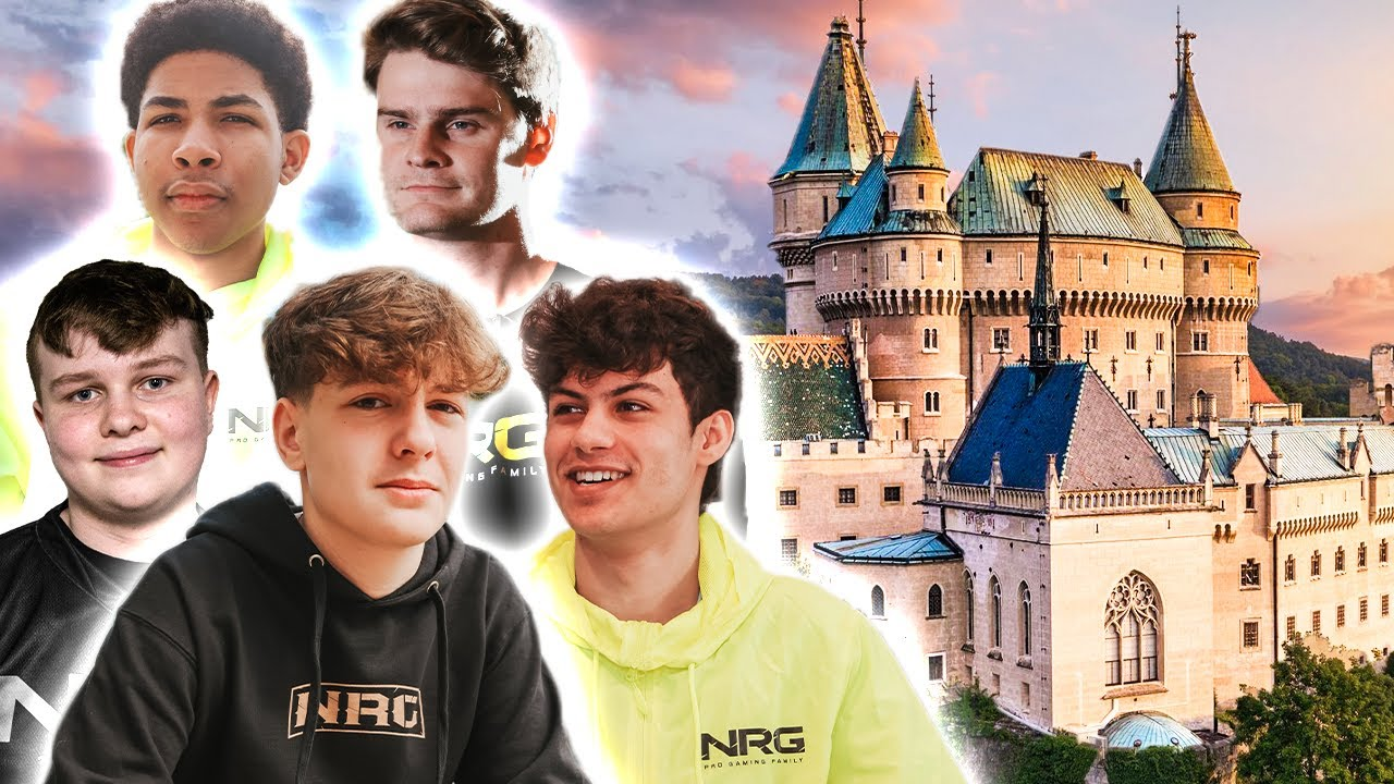 NRG's New $10,000,000 Gaming Fantasy Factory | NRG Castle Full Facility Tour