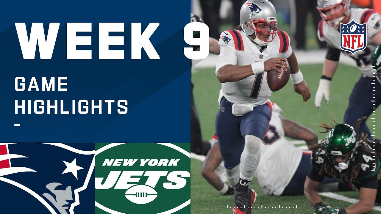 Patriots vs. Jets Week 9 Highlights | NFL 2020