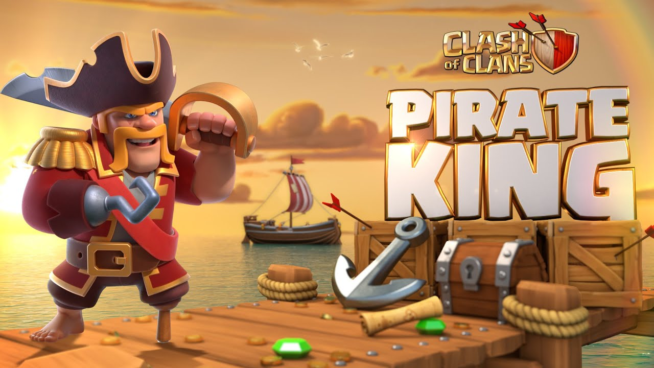 Pirate King Takes The Helm! (Clash of Clans Season Challenges)