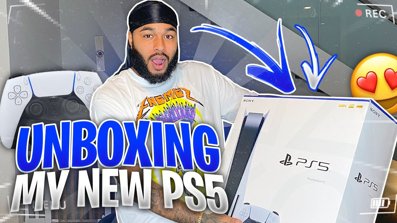 QUEEN SURPRISED ME WITH A PS5 |  UNBOXING & NEW GAMING SETUP!!!