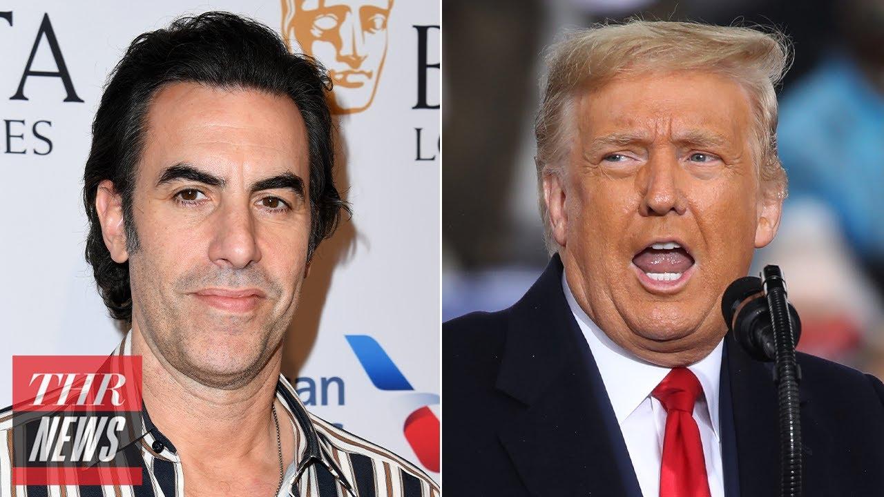 "Sacha Baron Cohen Fires After Donald Trump Calls Him ""Phony"" and a ""Creep""   THR News"