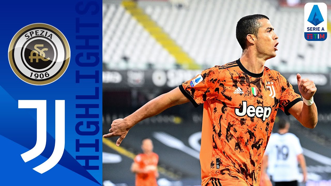 Spezia 1-4 Juventus   Ronaldo Scores Brace As Juventus Hit 4!   Serie A TIM