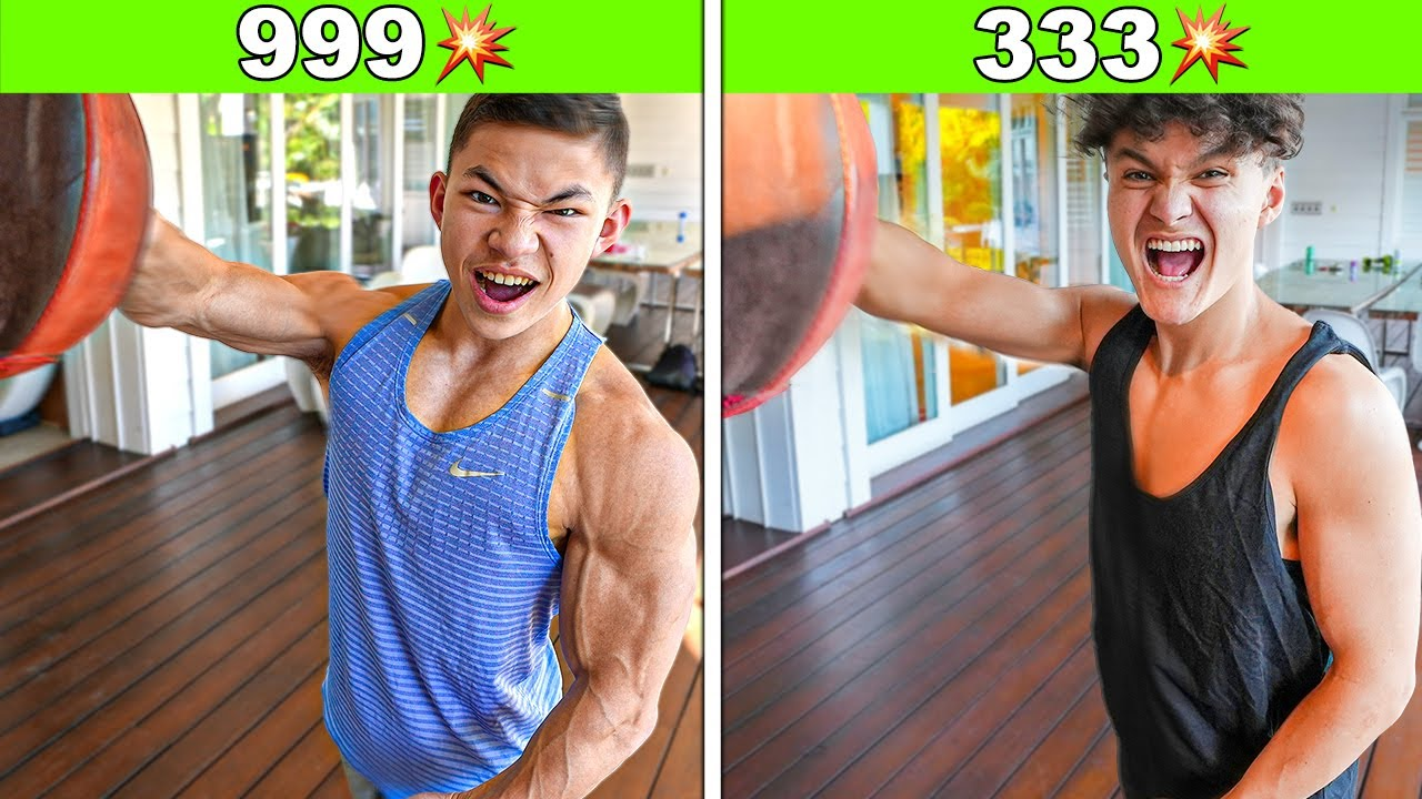 Strongest PUNCH Wins $1,000 w/ World's Strongest Kid