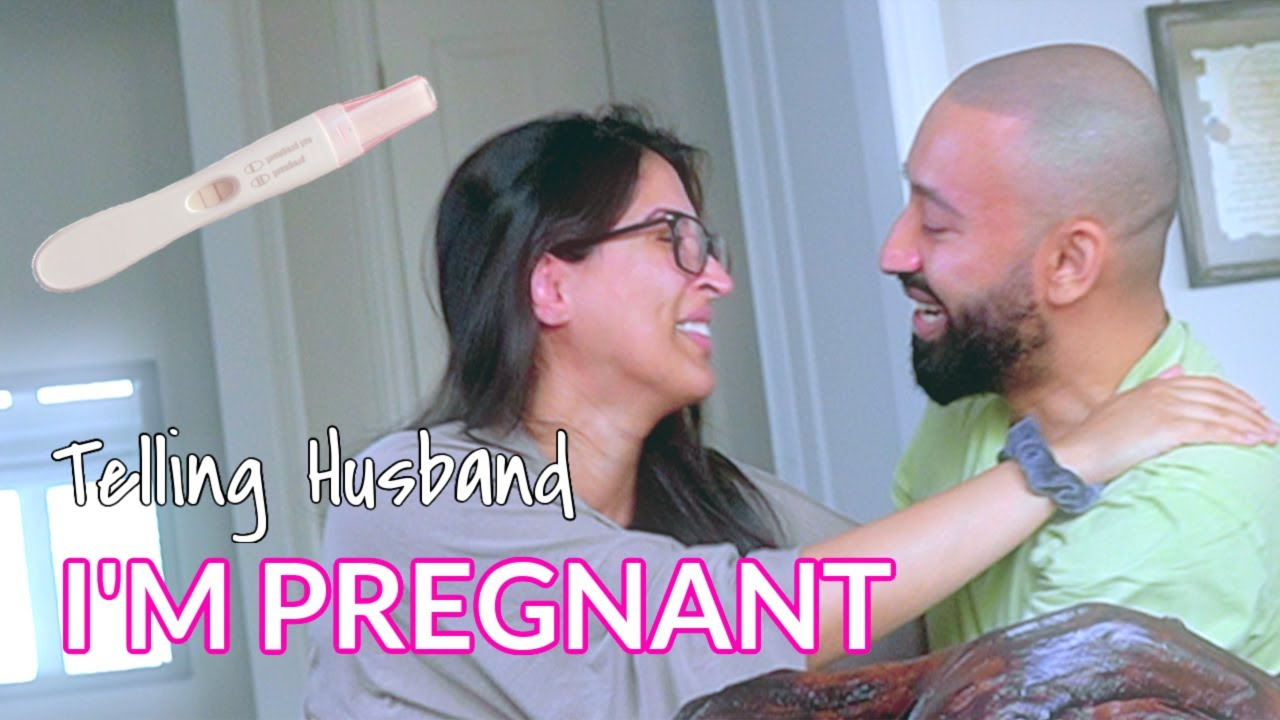 Surprise Pregnancy Announcement to Husband