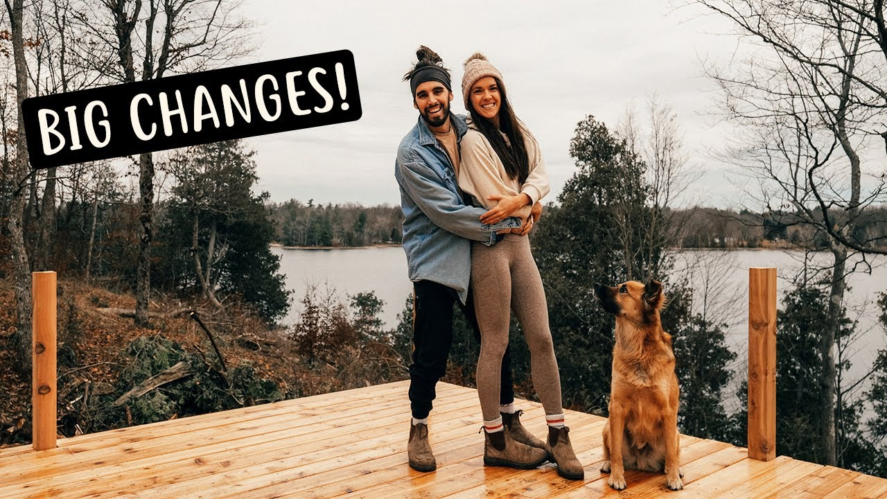 THIS CHANGES EVERYTHING | Building Our Home in the Woods