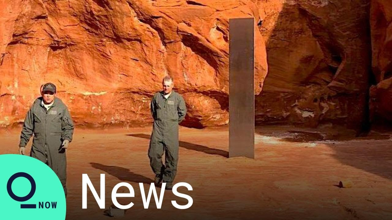 Utah Monolith: Mystery Metal Structure Discovered in Desert