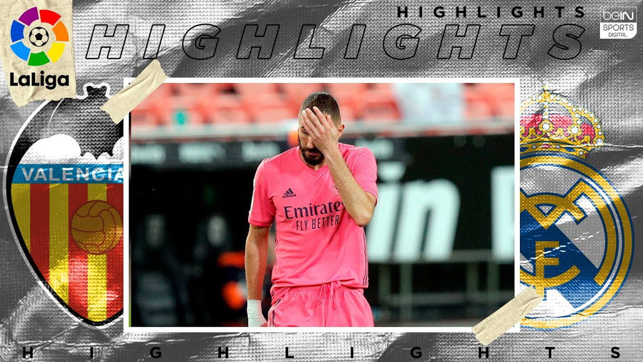 Valencia 4 – 1 Real Madrid – HIGHLIGHTS & GOALS – 11/08/2020