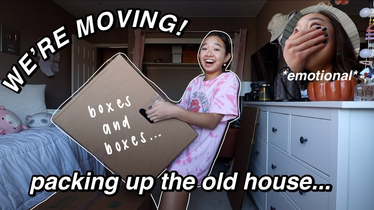 WE'RE MOVING! packing up the old house… (moving ep. 1)   Nicole Laeno
