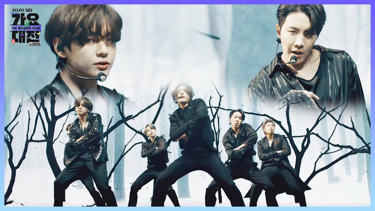 '무대 장인' 방탄소년단, 흑조의 유혹 'Black Swan'ㅣ2020 SBS 가요대전 in DAEGU(sbs 2020 K-Pop Awards)ㅣSBS ENTER.