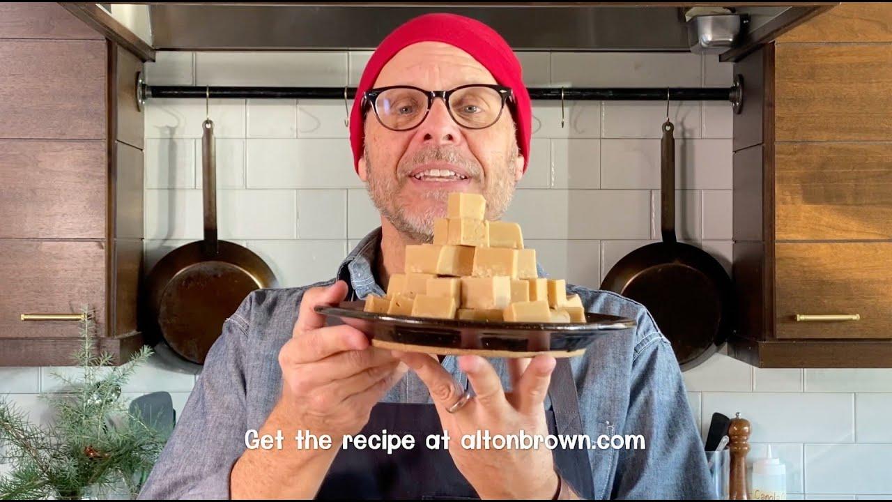 Alton Brown's Easy Peanut Butter Fudge