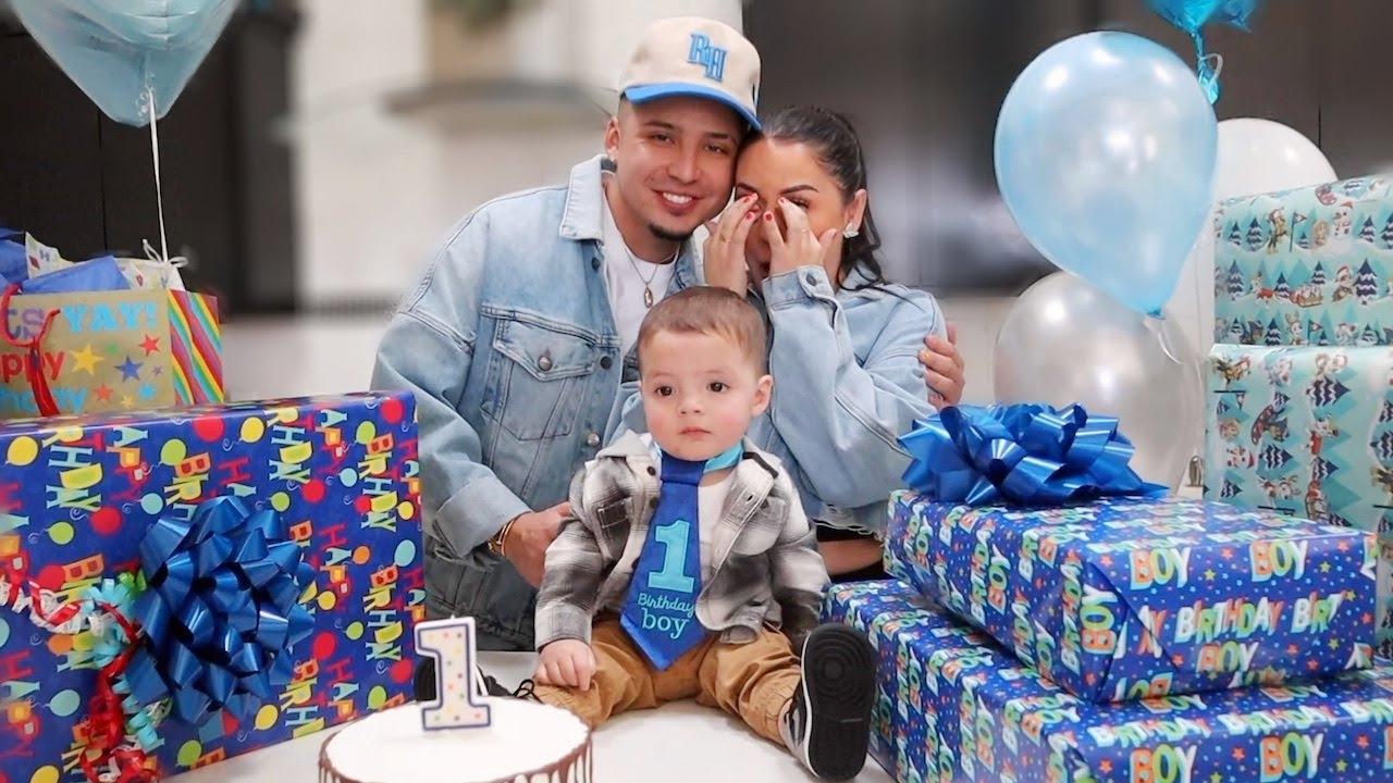 BABY G'S FIRST BIRTHDAY! *emotional* 🥺