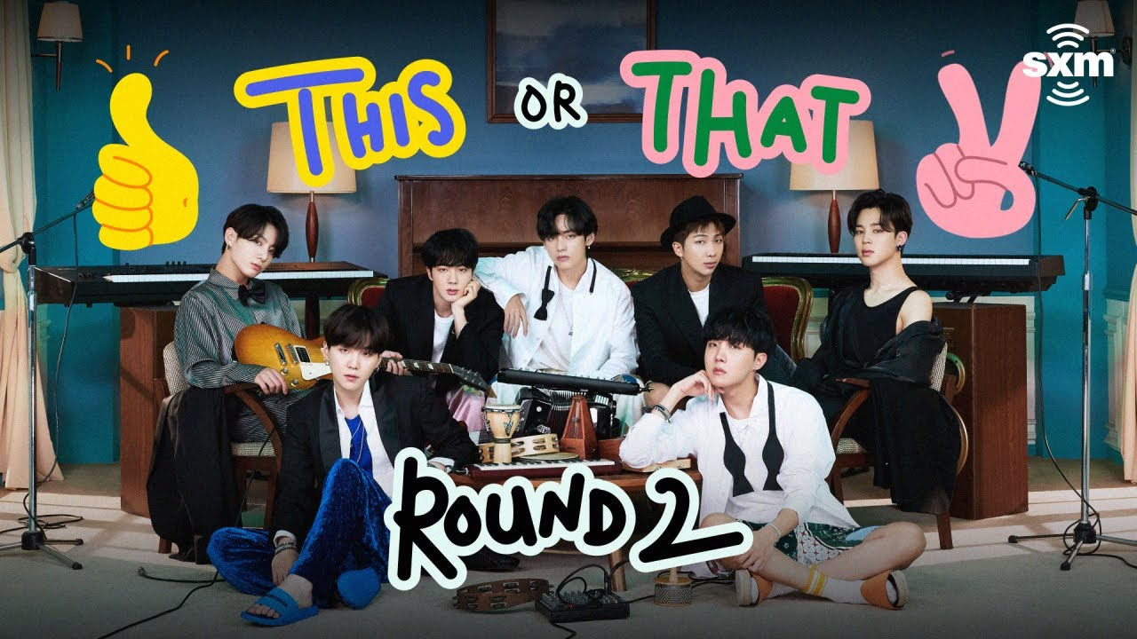 BTS Play 'This or That' (Round 2)