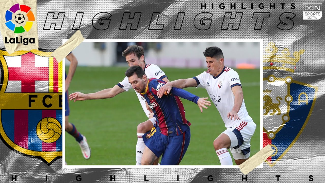 Barcelona 4 – 0 Osasuna – HIGHLIGHTS & GOALS – 11/29/2020