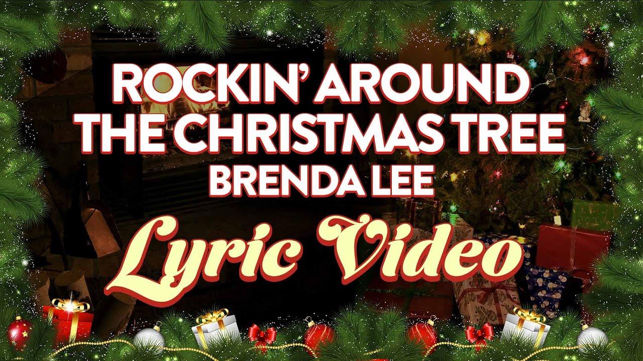 Brenda Lee – Rockin' Around The Christmas Tree (Official Lyric Video)