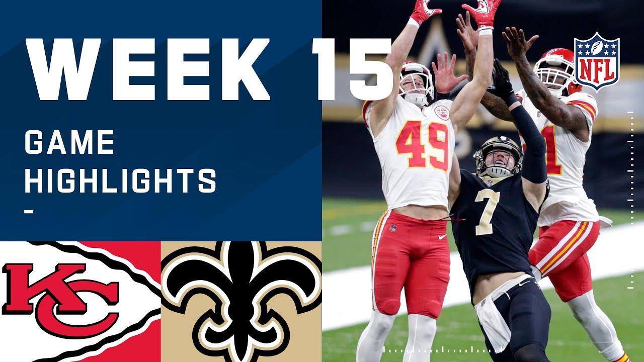 Chiefs vs. Saints Week 15 Highlights | NFL 2020
