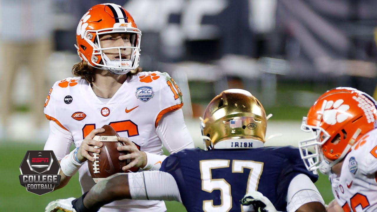 Clemson Tigers vs. Notre Dame Fighting Irish | ACC Championship Game | College Football Highlights