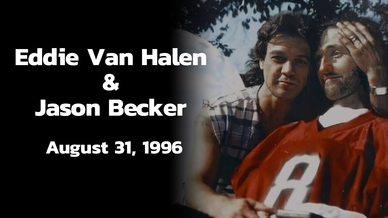 Eddie Van Halen's visit with Jason – August 31, 1996