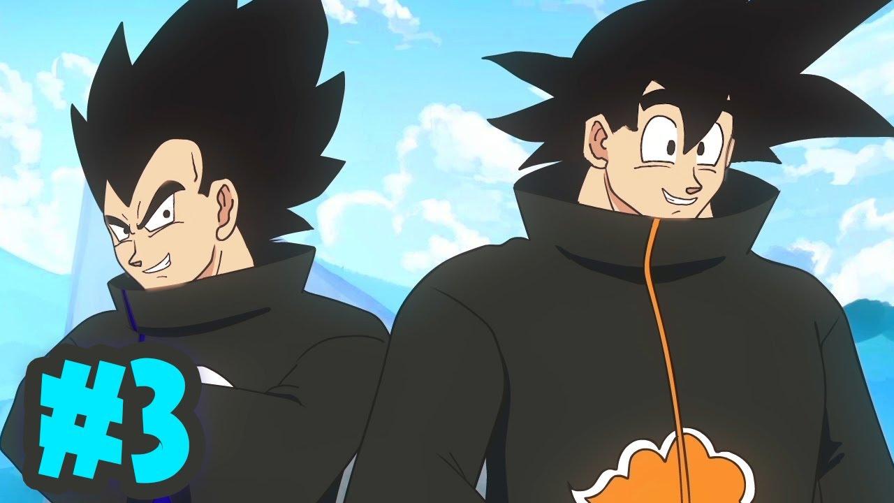 Goku vs Naruto Rap Battle 3