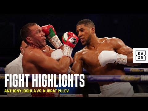 HIGHLIGHTS | Anthony Joshua vs. Kubrat Pulev