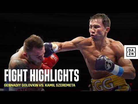 HIGHLIGHTS | Gennadiy Golovkin vs. Kamil Szeremeta