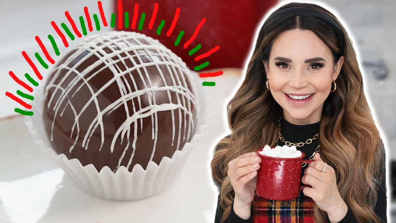 HOW TO MAKE AMAZING HOT COCOA BOMBS!