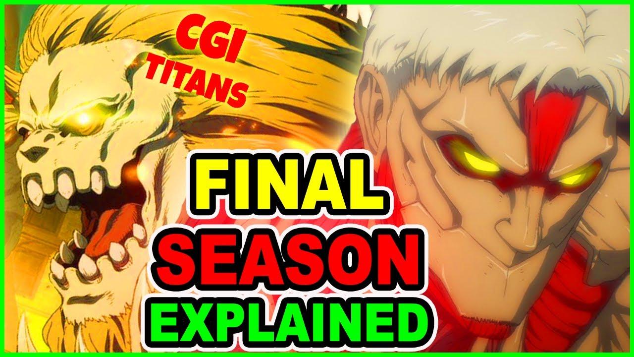 HYPE! What's Going On? AOT S4 Explained   Attack on Titan Season 4 Episode 1 Final Season