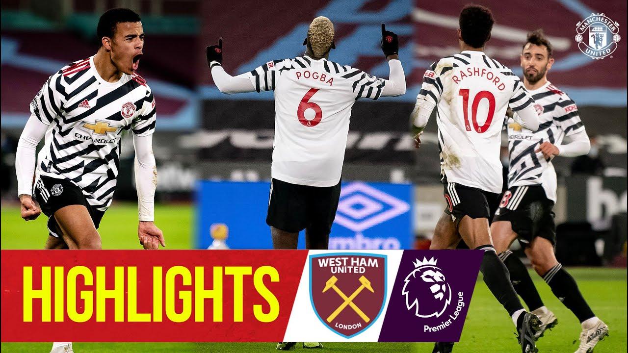 Highlights   Pogba, Greenwood & Rashford seal comeback win   West Ham 1-3 Manchester United
