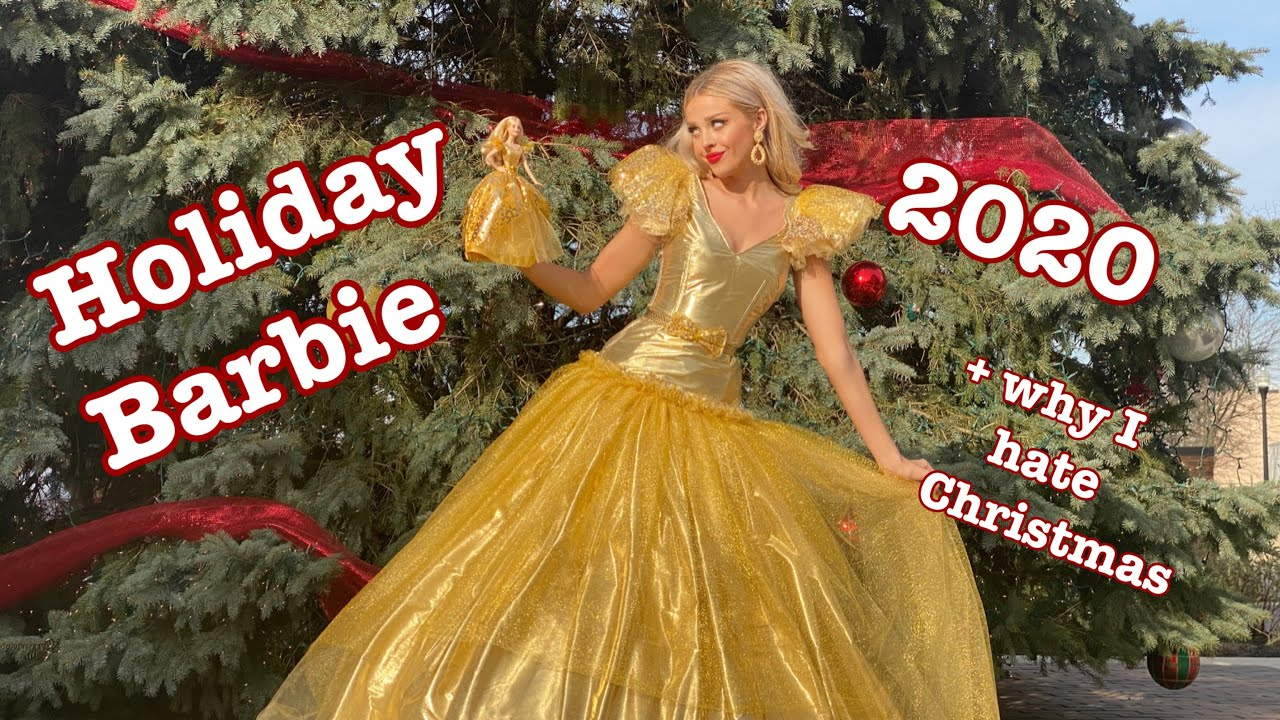 I Turned Myself Into Holiday Barbie 2020!