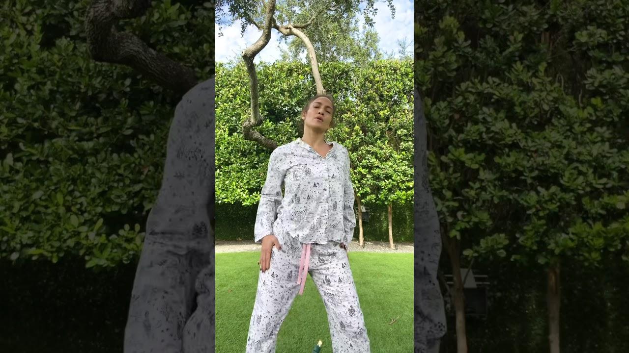 Jennifer Lopez   #InTheMorningChallenge TikTok Video