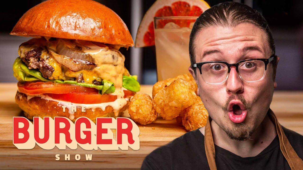 Joshua Weissman Cooks the Perfect Burger Combo Meal | The Burger Show