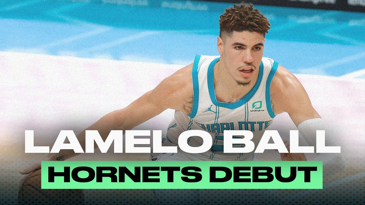 LaMelo Ball's First Game With The Hornets | Preseason Highlights