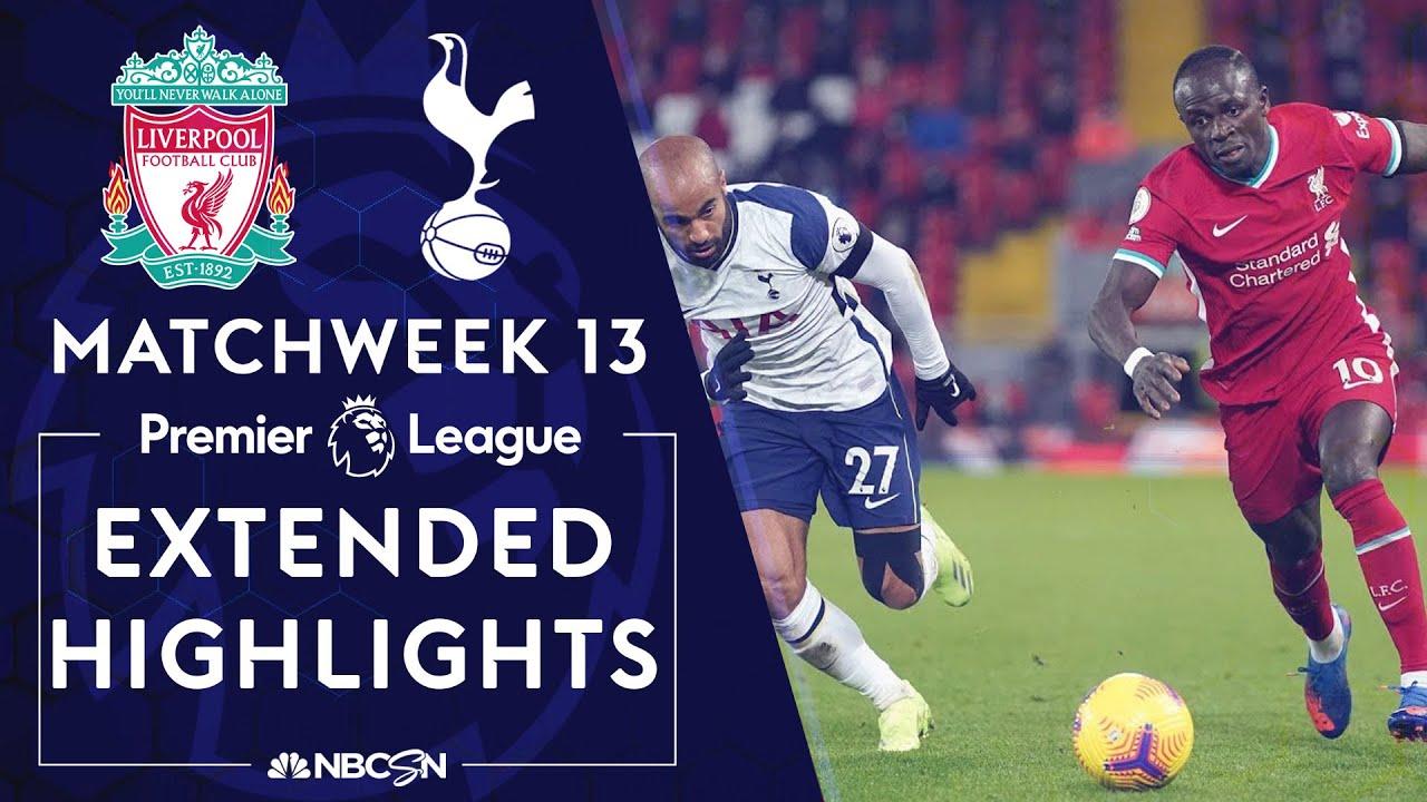 Liverpool v. Tottenham Hotspur | PREMIER LEAGUE HIGHLIGHTS | 12/16/2020 | NBC Sports