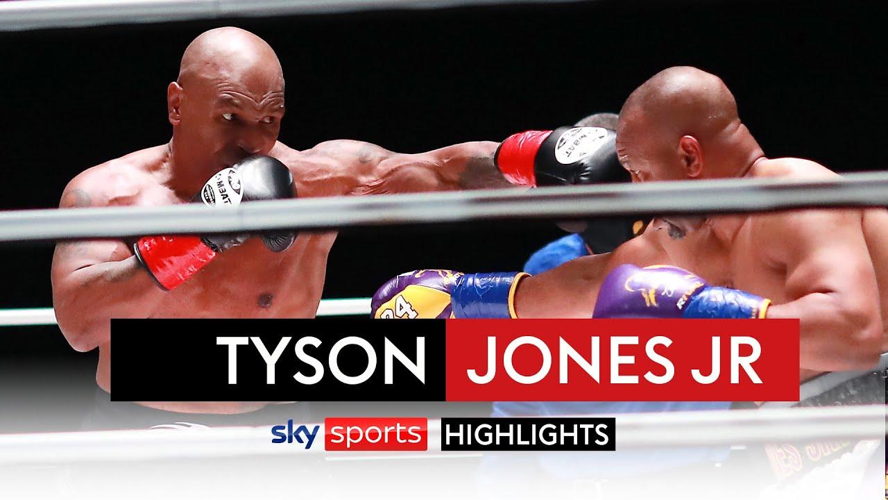 Mike Tyson vs Roy Jones Jr 👊| The Fight In 60 Seconds