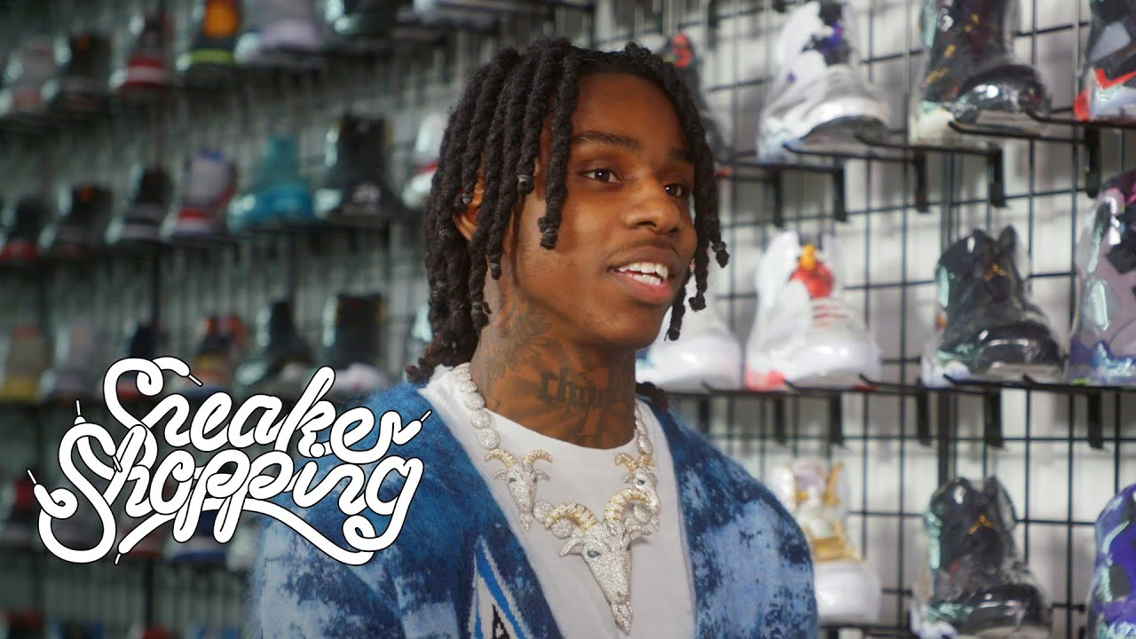 Polo G Goes Sneaker Shopping With Complex