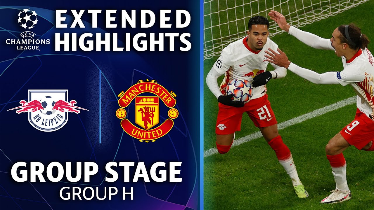 RB Leipzig vs. Manchester United: Extended Highlights | UCL on CBS Sports