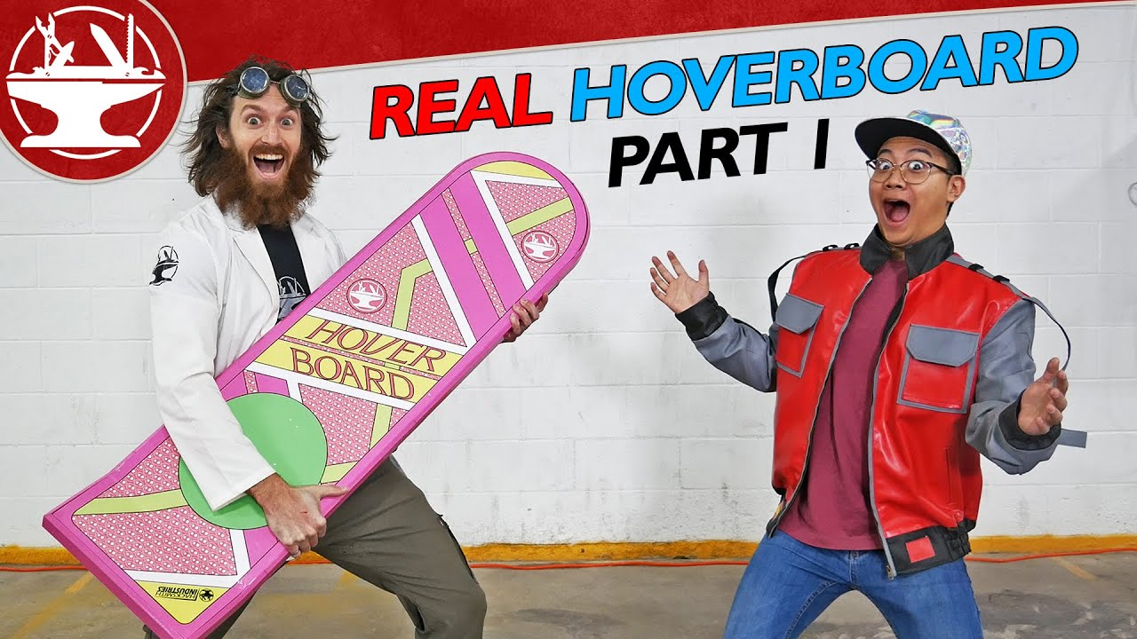 Real Hoverboard from BACK TO THE FUTURE!