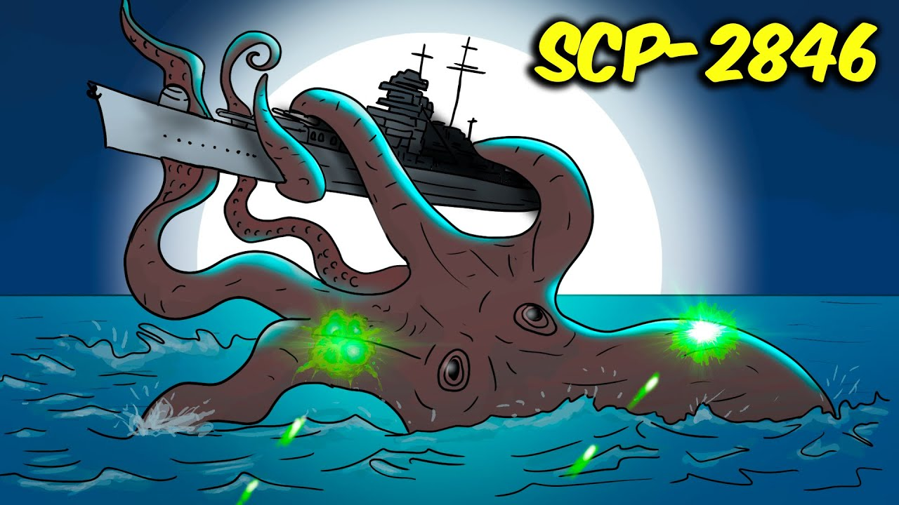 SCP-2846 The Squid and the Sailor (SCP Animation)