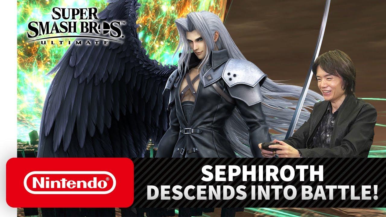 "Super Smash Bros. Ultimate – Mr. Sakurai Presents ""Sephiroth"""