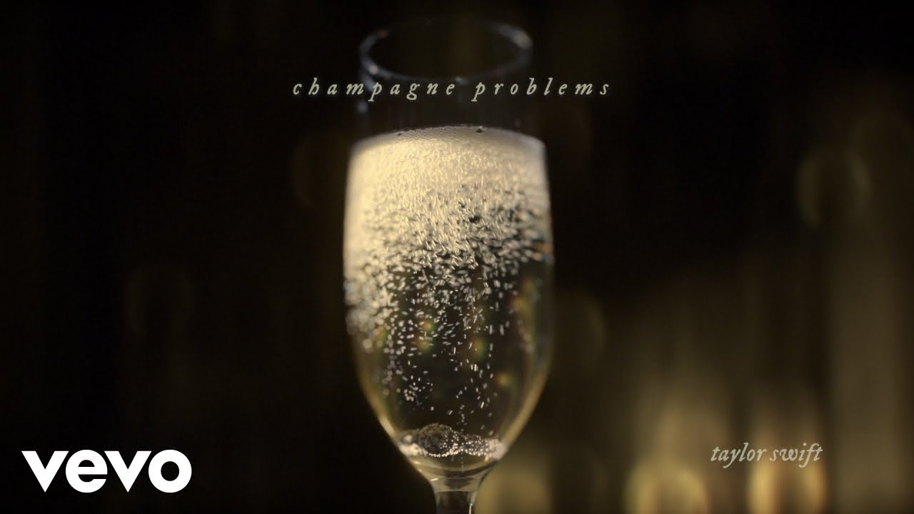 Taylor Swift – champagne problems (Official Lyric Video)