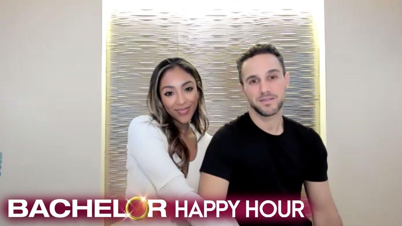 Tayshia & Zac Relive Their Romantic 'Bachelorette' Proposal: 'We Loved It'