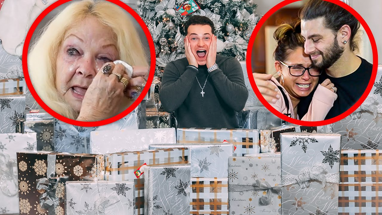 The BEST Christmas PRESENT Opening EVER! (NEW HOUSE SURPRISE)