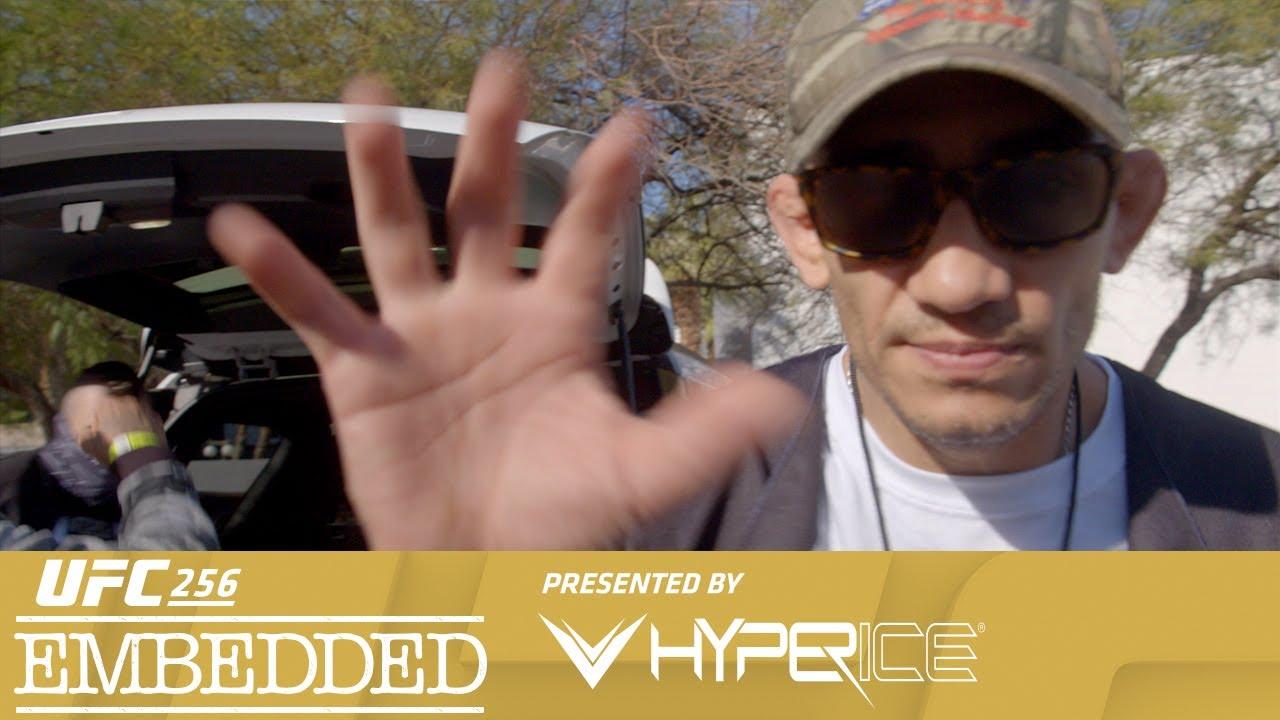 UFC 256 Embedded: Vlog Series – Episode 3